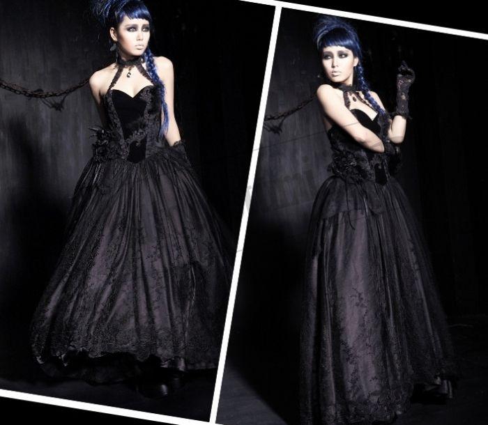 Super Festa tema Dark, Gothic Party, Emo: come vestirsi  DJ32